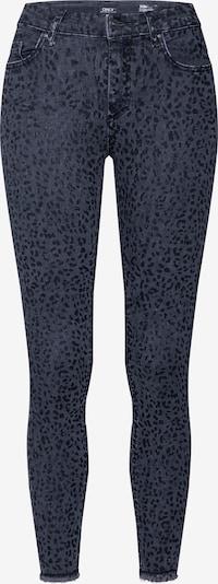 ONLY Jeans 'ONLBLUSH MID SK AN RAW LEO JEANS REA2368' in schwarz, Produktansicht