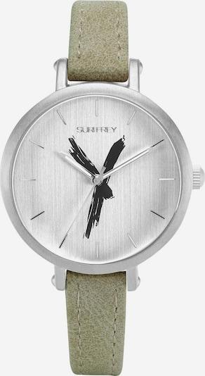 Suri Frey Analoog horloge 'Britney' in de kleur Lichtgroen / Zwart / Wit, Productweergave