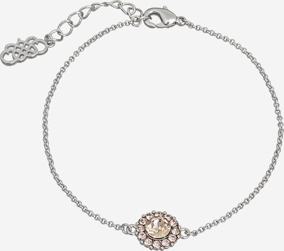 LILY AND ROSE Armband 'Celeste' in de kleur Rosa / Zilver, Productweergave