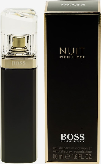 BOSS Casual Eau de Parfum 'Nuit pour Femme' in gold / schwarz, Produktansicht