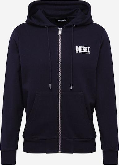 DIESEL Sweatjacke 'S-GIRK-HOOD-ZIP-LOGO FELPA SW' in schwarz, Produktansicht