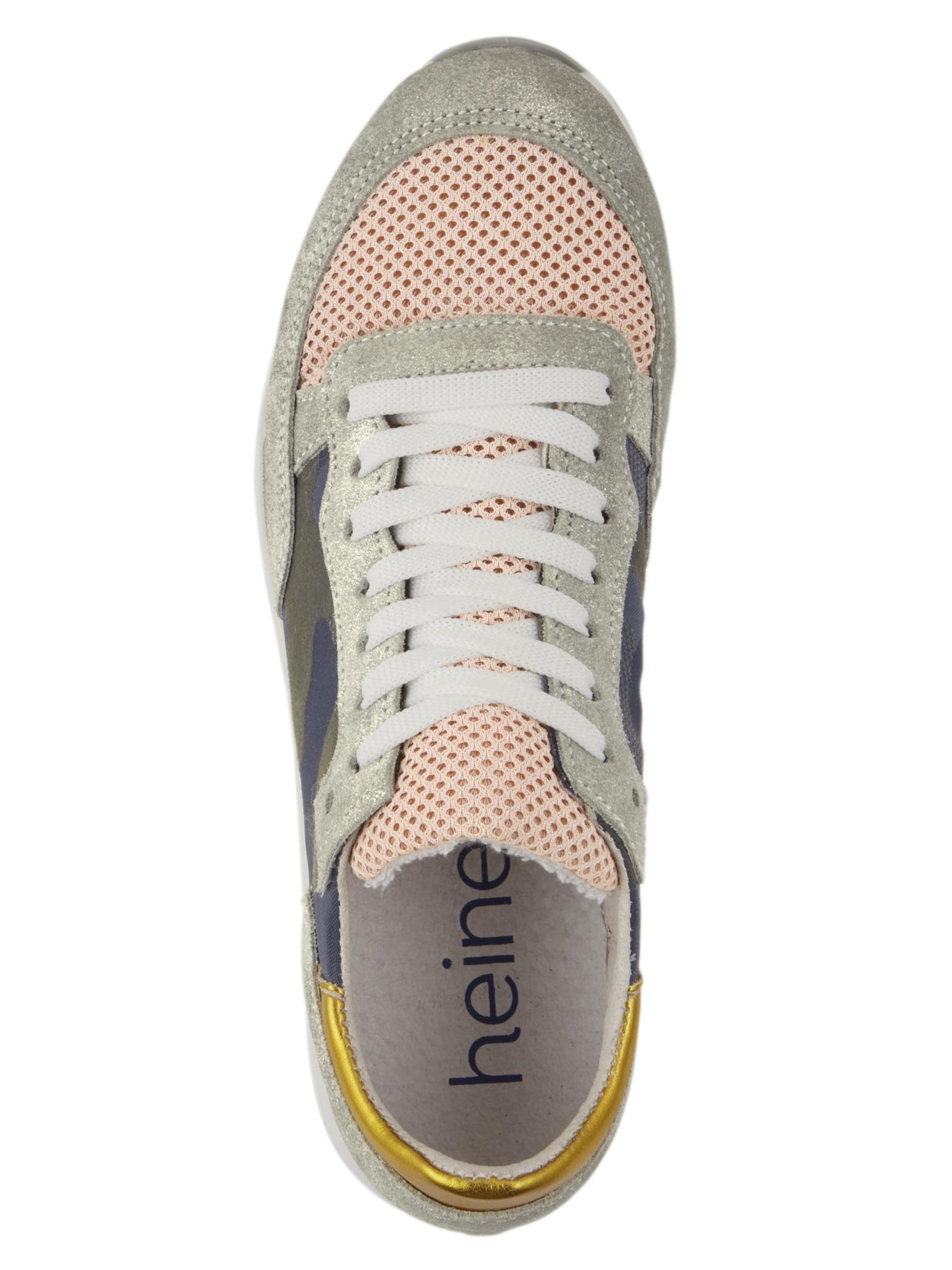 Heine Sneaker In Sneaker Heine GrauRosé nNvm8wO0