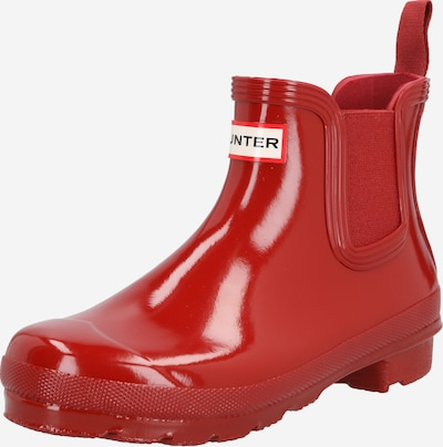 HUNTER Stiefel in rot, Produktansicht