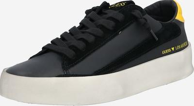 sárga / fekete GUESS Rövid szárú edzőcipők 'FIRENZE', Termék nézet