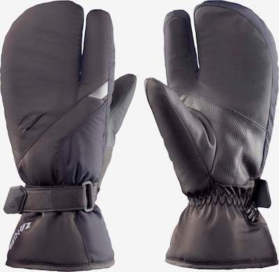 Zanier Handschuhe in basaltgrau / schwarz, Produktansicht