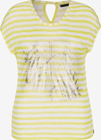 Lecomte Shirt in gelb / silber / weiß, Produktansicht