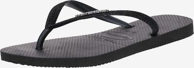 Šlepetės per pirštą 'Glitter' iš HAVAIANAS , spalva - juoda, Prekių apžvalga