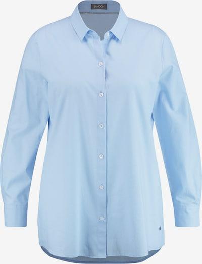 SAMOON Bluse in hellblau, Produktansicht