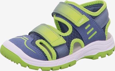 SUPERFIT Sandale 'Tornado' in blau / grün / weiß, Produktansicht