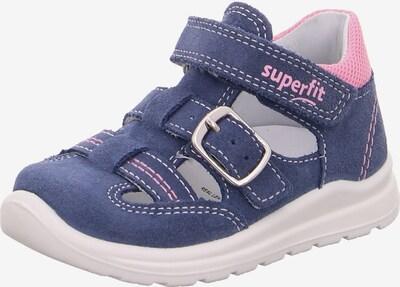 SUPERFIT Sandale in dunkelblau / pink, Produktansicht