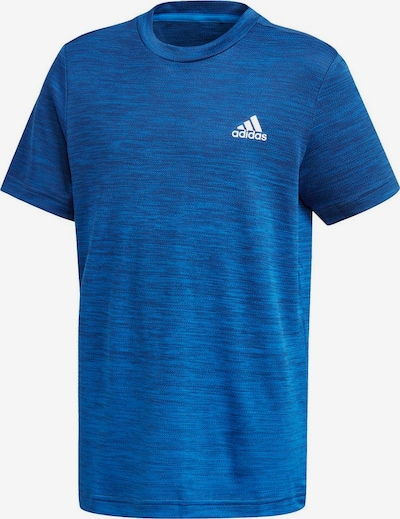 ADIDAS PERFORMANCE Trainingsshirt 'BOYS GRAD TEE' in blaumeliert, Produktansicht