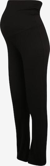 MAMALICIOUS Leggings 'NEW ROSA JERSEY YOGA PANT' en noir, Vue avec produit