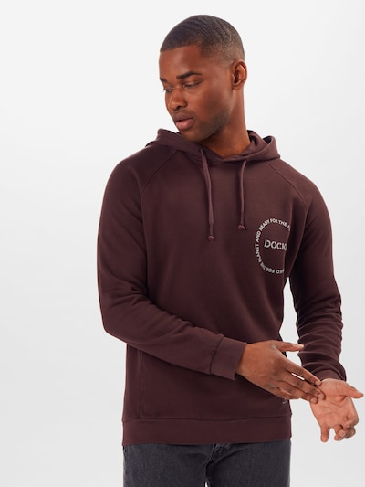 Dockers Sweat-shirt en prune: Vue de face