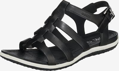 GEOX Sandalen 'D SANDAL VEGA' in schwarz / weiß, Produktansicht