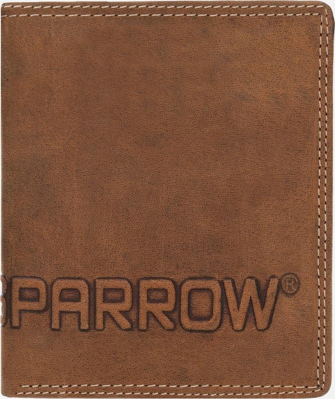 Spikes & Sparrow Amsterdam Geldbörse Hochformat Leder 11 cm mit Klappfach