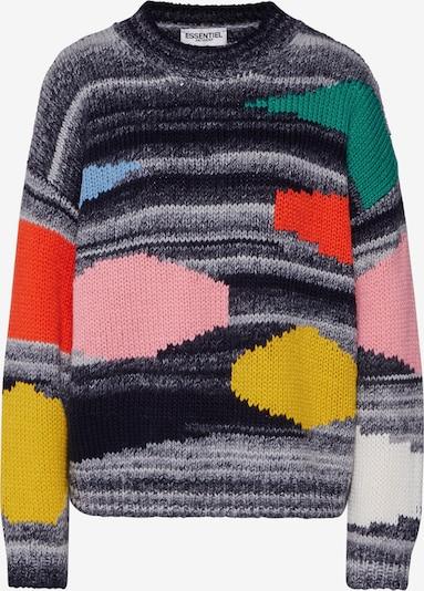 Essentiel Antwerp Pullover 'Vister' in mischfarben / schwarz, Produktansicht