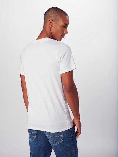 Hailys Men Majica 'Alpine' | bela barva: Pogled od zadnje strani