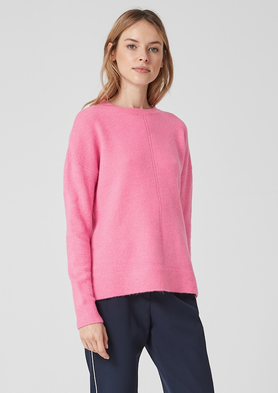 s.Oliver Pullover in pink: Frontalansicht