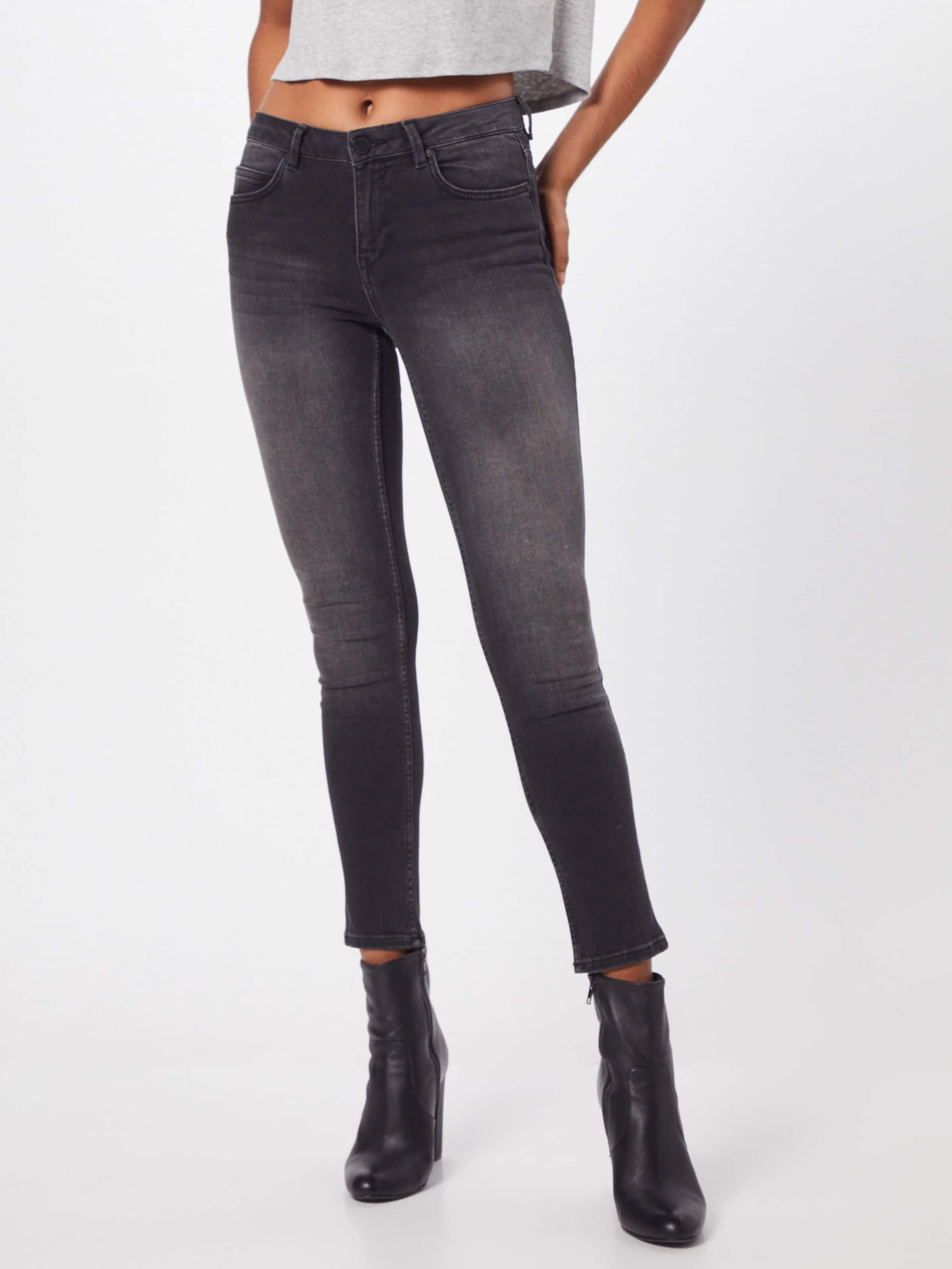 In Day Racer' 2nd Denim Black Jeans Cropped 'sally PukXiZ