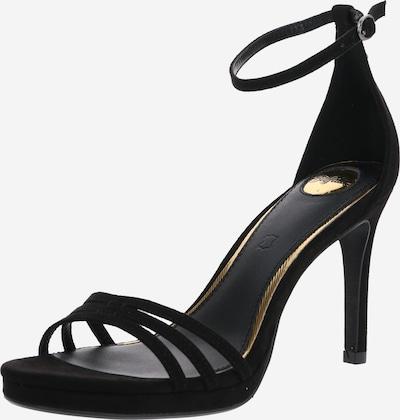 Sandale 'MELISSA' BUFFALO pe negru, Vizualizare produs