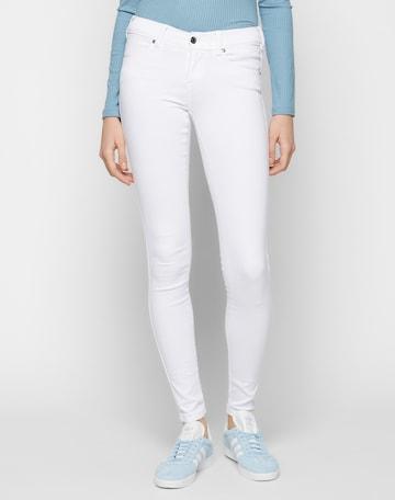 Dr. Denim Jeans 'Dixy' i vit