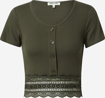 ABOUT YOU Shirt 'Carin' in Green
