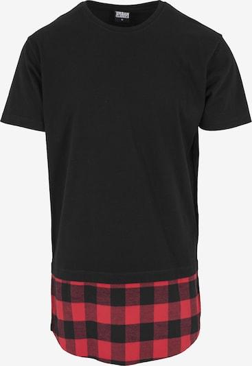 Urban Classics Shirt in de kleur Rood / Zwart, Productweergave