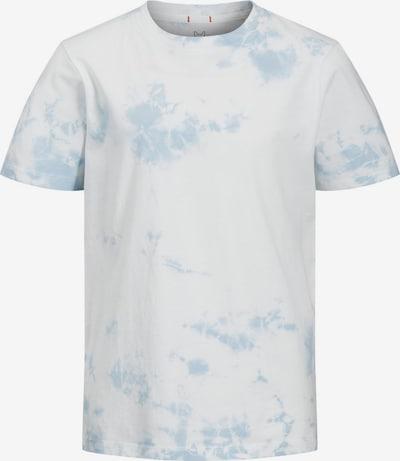 Jack & Jones Junior Shirt in de kleur Lichtblauw / Wit, Productweergave