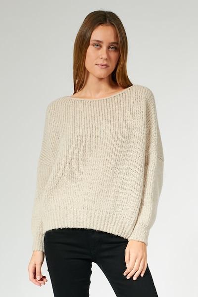 BLOOM Pullover in beige, Modelansicht