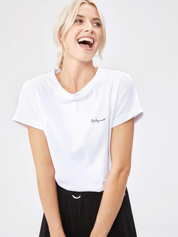 By Blanc Lena Gercke 'sina' shirt T Leger En uFcT1JlK3