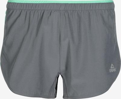 PEAK Sport-Shorts in türkis / anthrazit, Produktansicht