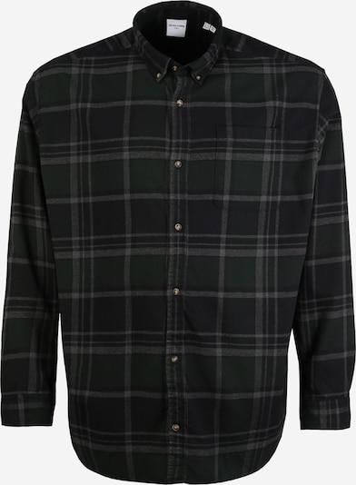 Dalykiniai marškiniai iš JACK & JONES , spalva - pilka / tamsiai žalia / juoda, Prekių apžvalga