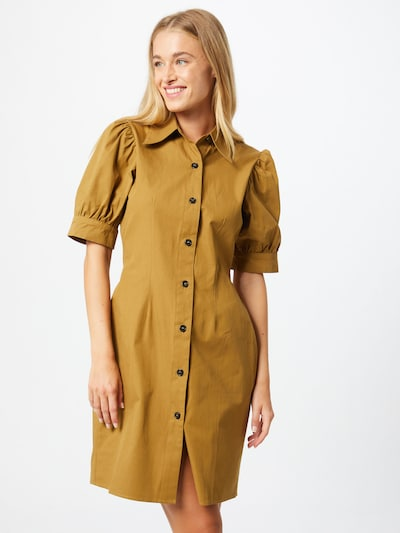 Unique21 Kleid in khaki, Modelansicht