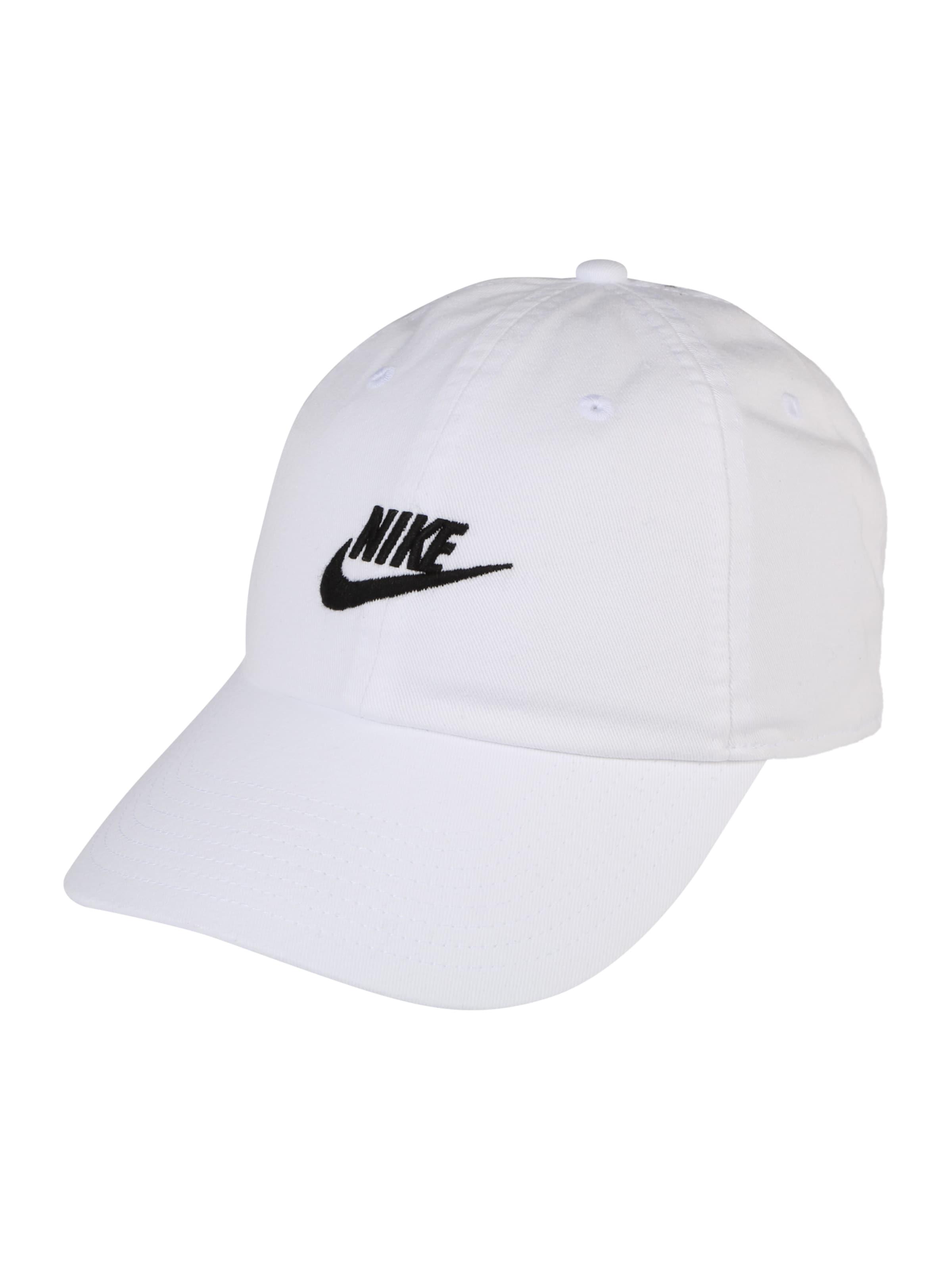 Futura Nike Cap Washed' Sportswear 'h86 In Weiß jcq34LR5AS