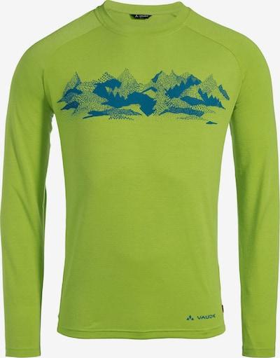 VAUDE Shirt 'Gleann II' in grün, Produktansicht