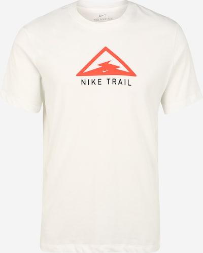 NIKE Funkcionalna majica 'Trail' | kremna / svetlo rdeča barva, Prikaz izdelka