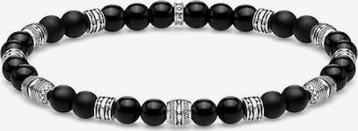 Thomas Sabo Armband 'Talisman ' in schwarz / silber, Produktansicht