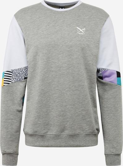 Iriedaily Sweater majica 'Ninetynine' u siva / miks boja / bijela: Prednji pogled