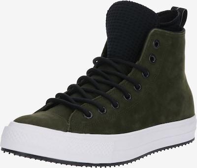 CONVERSE Sneaker 'CHUCK TAYLOR ALL STAR' in dunkelgrau / oliv / dunkelgrün: Frontalansicht