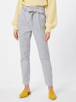 VERO MODA-broek 'Vmeva' in blauw/wit