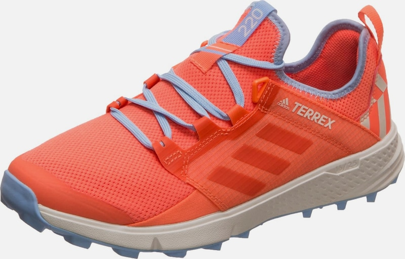 ADIDAS PERFORMANCE Laufschuh 'Terrex Speed LD Trail' in royalblau / koralle: Frontalansicht
