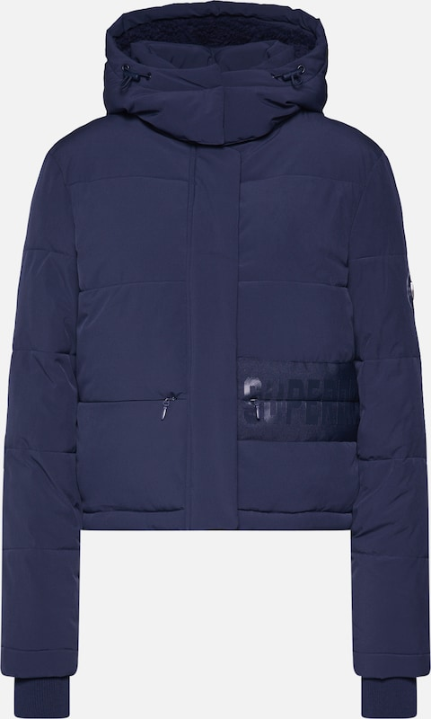 Superdry Jacke 'HERITAGE PADDED JACKET' in navy, Produktansicht