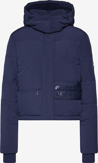 Superdry Winterjas 'HERITAGE PADDED JACKET' in de kleur Navy, Productweergave