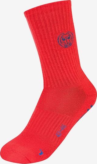 BIDI BADU Socken Tamio Crew Tech im 3er Pack mit atmungsaktiver Funktion in rot, Produktansicht