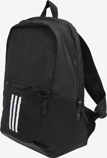 ADIDAS PERFORMANCE Rucksack 'PARKHOOD WND' in schwarz / weiß: Seitenansicht