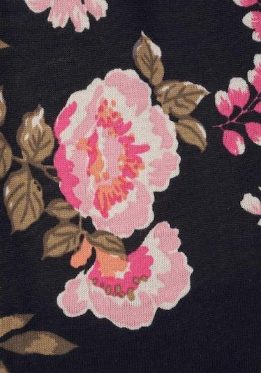 Tuta jumpsuit LASCANA di colore rosa / nero, Visualizzazione prodotti