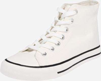 Dorothy Perkins Sneakers hoog 'ICONIC TRAINER' in de kleur Wit, Productweergave