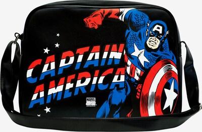 LOGOSHIRT Tasche 'Captain America' in schwarz, Produktansicht