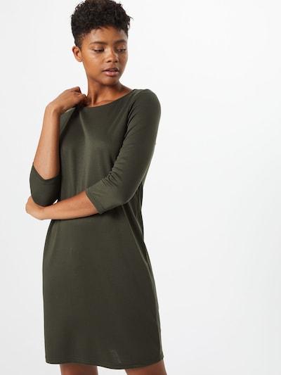 VILA Jurk 'Tinny' in de kleur Donkergroen, Modelweergave
