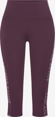 LASCANA ACTIVE Workout Pants in Purple